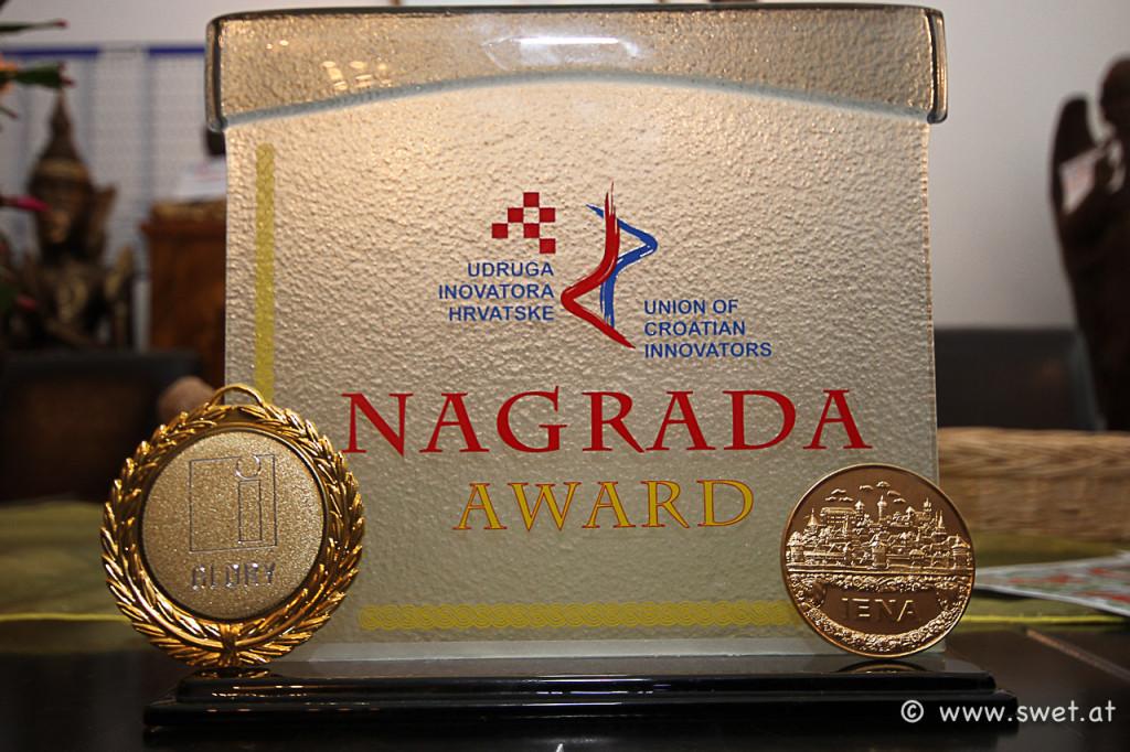 2 x Goldene, 1 x Sonderpreis bei der iENA 2012